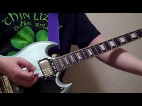 Thin Lizzy - Dancing in the Moonlight (It's Caught Me in Its Spotlight) 【Guitar】 Cover mp3
