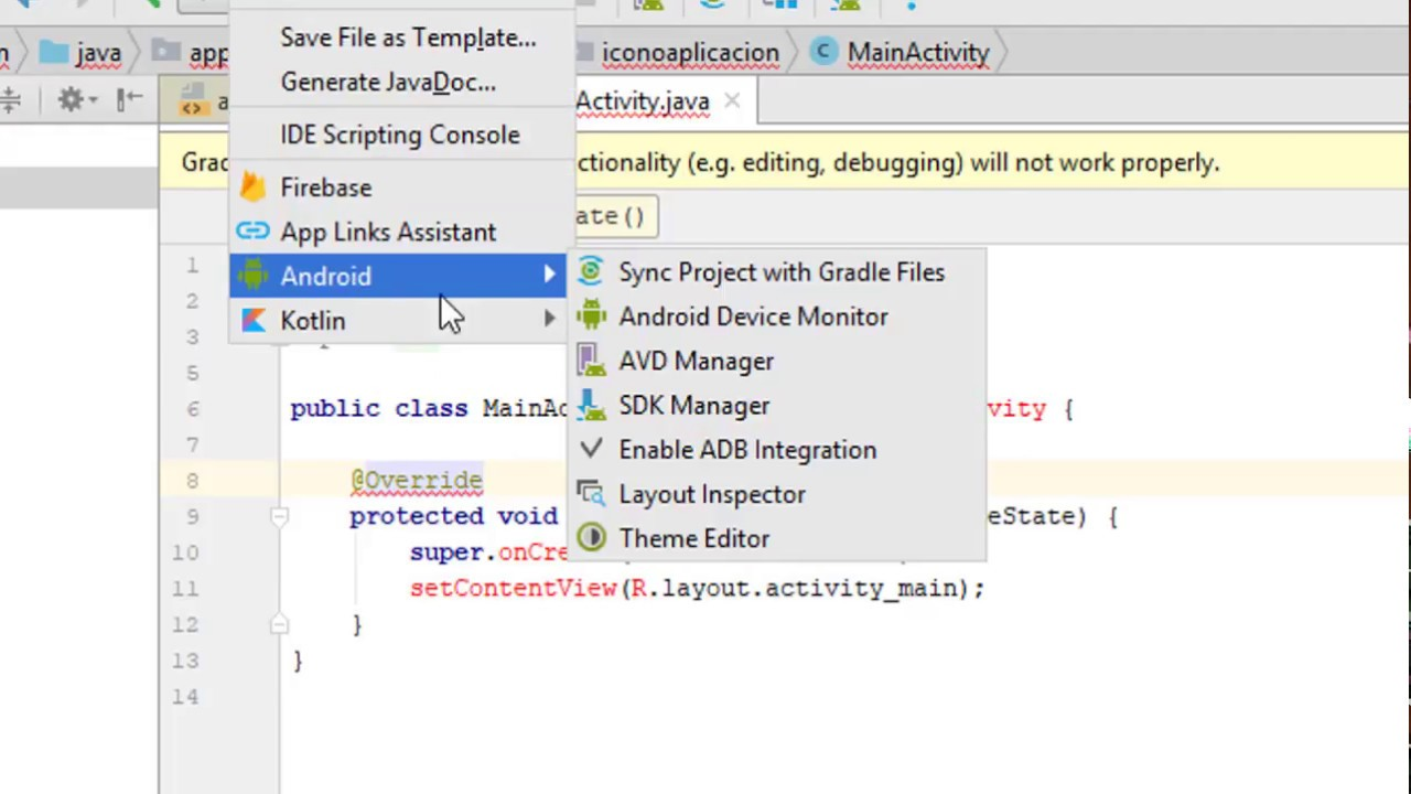 How to fix Gradle project sync failed Android studio