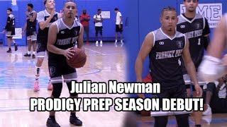 Julian Newman GOES OFF In Prodigy Prep DEBUT vs DME Academy!