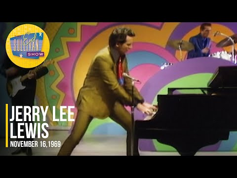 "Jerry Lee Lewis ""Hits Medley"" on The Ed Sullivan Show ▶3:12"
