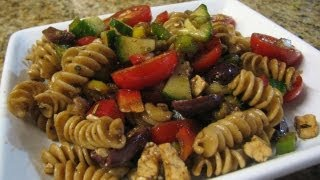 Greek Pasta Salad - Lynn's Recipes