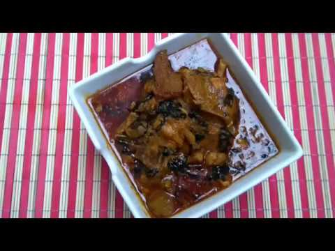 How To Cook Banga Soup/Stew (Ofe Akwu)
