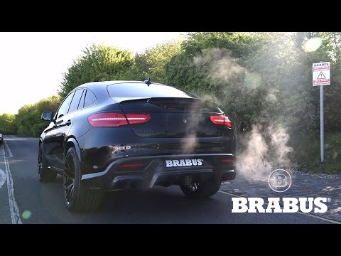 BRABUS 850 based on GLE 63 Coupé with valve controlled exhaust
