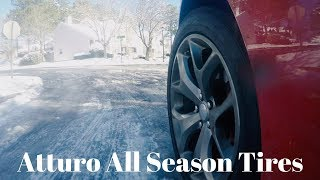 ATTURO All-Season Tires in SNOW...REVIEW