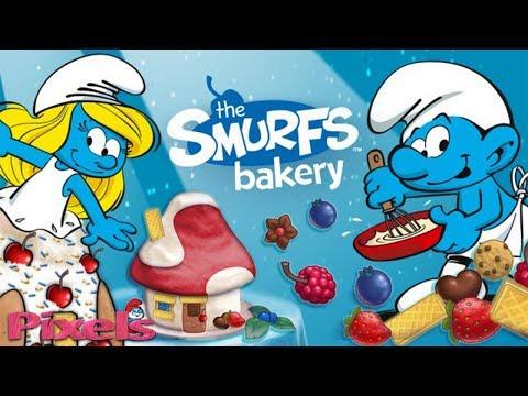The Smurfs Bakery – Dessert Maker! Fun Game For Kids