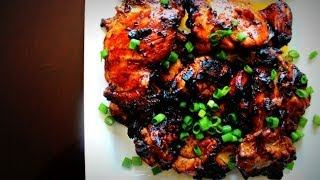 Kenmore Grill Master: Achiote Grilled Chicken (inasal) | Momma Cuisine | Great Everyday Meals