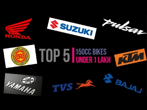 Top 5 150-160CC Bikes Under 1 Lakh In 2017