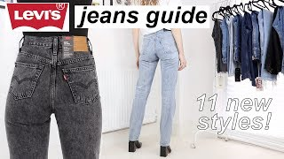 Try-on guide to women's Levi's jeans part 2 | 11 NEW STYLES!! | 2019