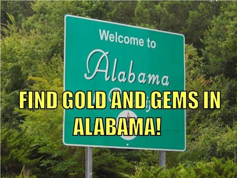 Find Gold And Gems In Alabama