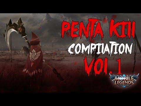 Mobile Legends Penta Kill Compilation Vol.1