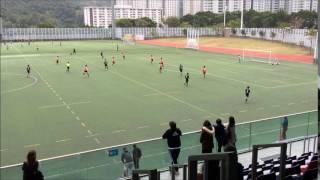 [學界足球精英賽] 陳白沙 2-0 浸附中 入球片段
