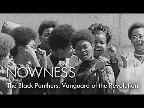 """""""The Black Panthers: Vanguard of the Revolution,"""" a documentary on the 60s civil rights group"""