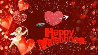 С днем влюбленных С Днем Святого Валентина Красивое музыкальное видео поздравление