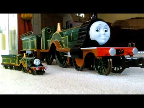 thomas and friends g scale emily the emerald engine youtube