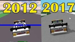 Roblox Graphics Comparison 2012 vs 2017