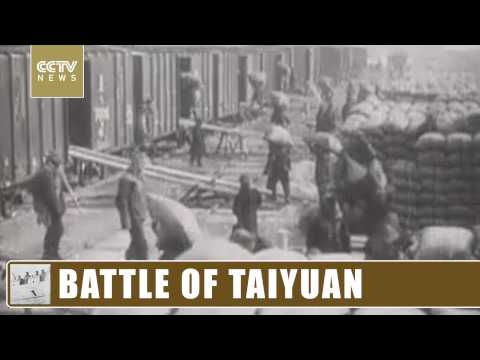 BATTLE OF TAIYUAN: Biggest conflict in North China