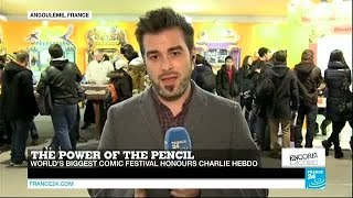Angoulême comics festival: The power of the pencil