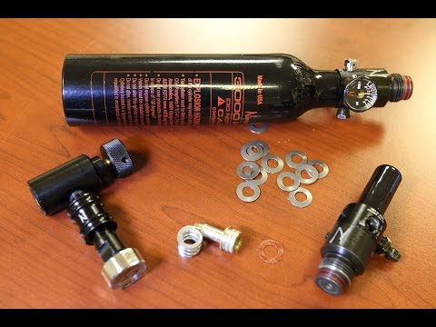 How to adjust ninja ( Umarex Gauntlet ) regulator for PCP HPA Airguns  (800psi to 1400psi output)