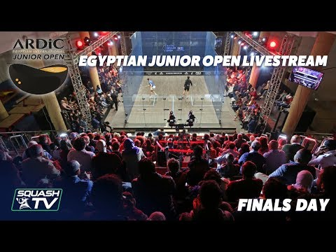 Squash: Egyptian Junior Open - Finals Day Livestream