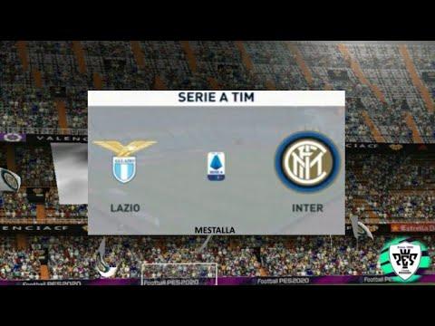 Lazio vs Inter Milan Serie A 16/2/2020 match gameplay ...