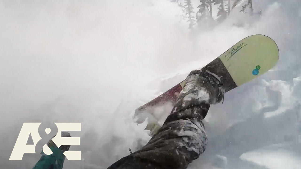 INSANE Video Of Snowboarder Caught In Avalanche | Rescue Cam | A&E