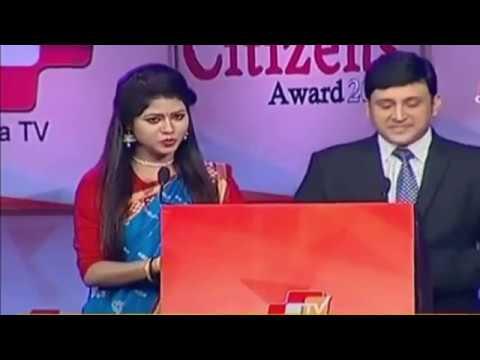 OTV Odia Odisha Citizens Award 2016 in Bhubaneswar.