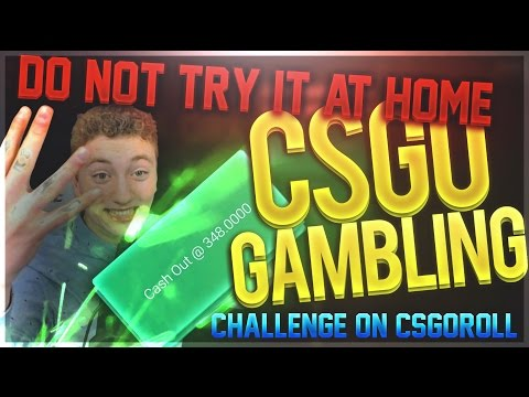 CSGO Gambling: DO NOT TRY THIS AT HOME! Challenge on csgoroll!