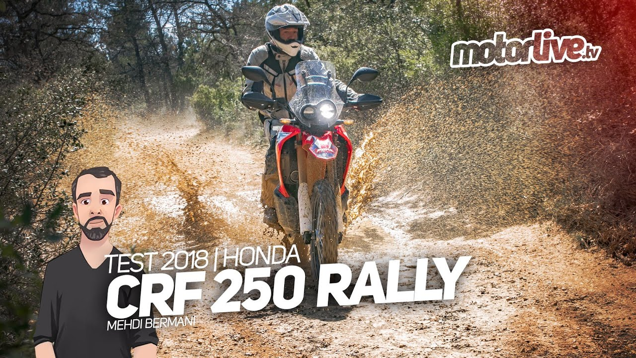 Honda Crf 250 Rally Test 2018 Youtube