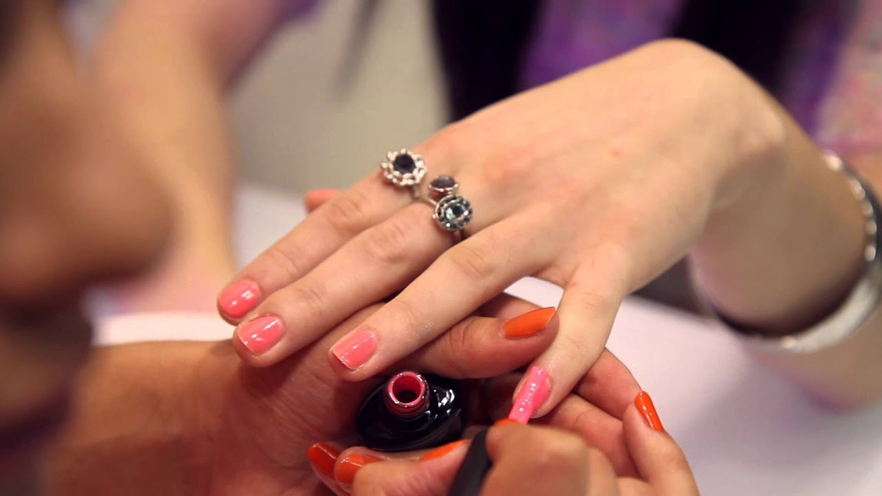 Love Beauty By Monika Mohindra: Nail and Brow Bar - YouTube