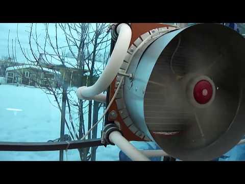 зимняя теплица-дополнительный обогрев от автом.радиатора с вентилятором