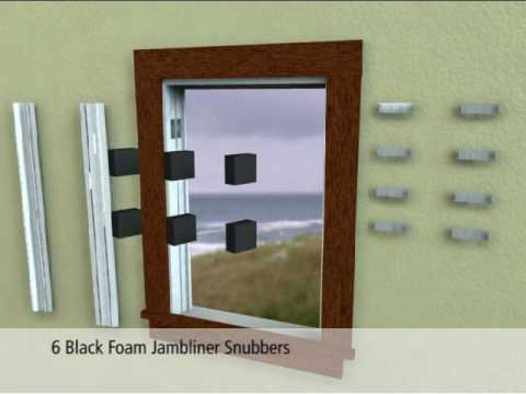 Jeld Wen Sash Replacement Kit System Youtube
