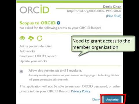 Add publications to your ORCID Profile
