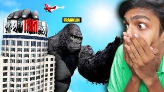 GTA 5 : FRANKLIN becomes KING KONG !! MALAYALAM