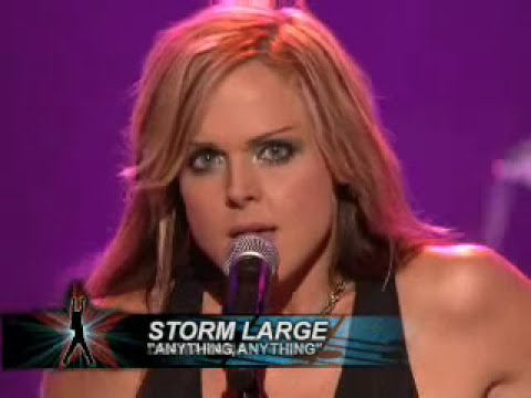 Storm Large - Anything, Anything (Rockstar Supernova)