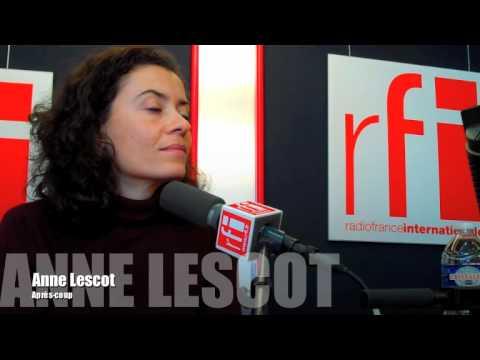 Un moment de radio avec Anne Lescot