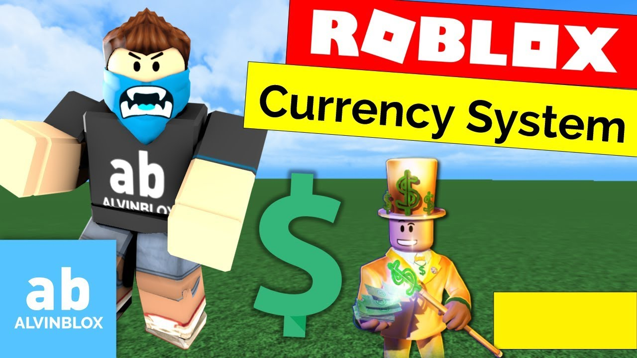 Roblox Currency Script System Tutorial Monetise Your Game Youtube