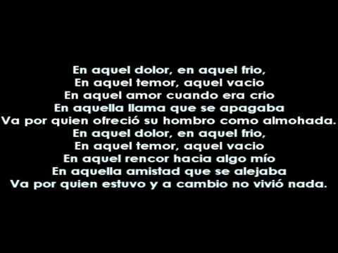 Nach - Ni estabas ni estarás [Letra/Lyrics]