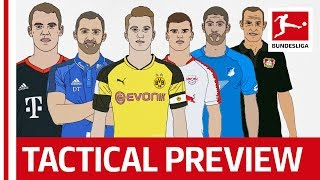 Bundesliga Preview With Bayern, Dortmund & Co - Top 6 Teams Analysed by Tifo Football