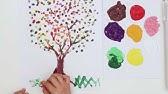 Akrilik Boya Ile Simetri Boyama Symmetry Painting For Kids Youtube
