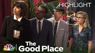 The Good Place - The Museum of Human Misery Episode Highlight