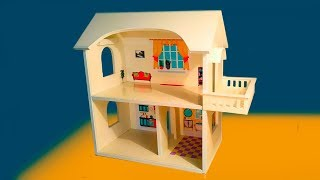 Як зробити будиночок / Як зробити ляльковий будиночок з пластику