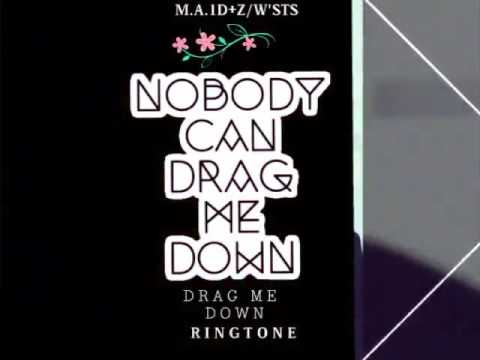 drag me down ringtone