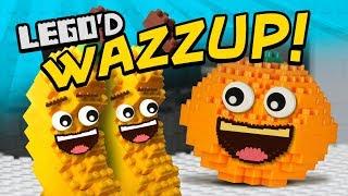 Annoying Orange - Wazzup LEGO'd!