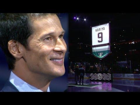 Ducks honor Paul Kariya and retire his No. 9