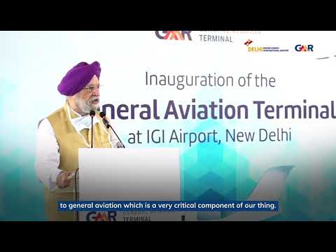 India's first ever General aviation Terminal