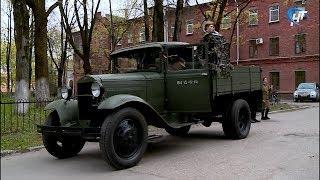 Под окнами ЦГКБ прозвучали песни военных лет