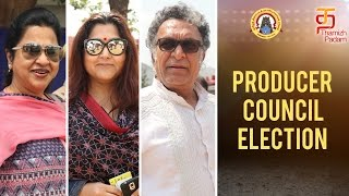 Nasser, Radhika, Kushbu at Producer Council Election | Vishal | Thamizh Padam