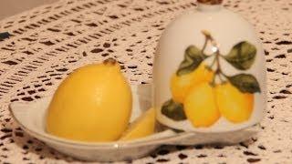 Как быстро уложить волосы при помощи лимона