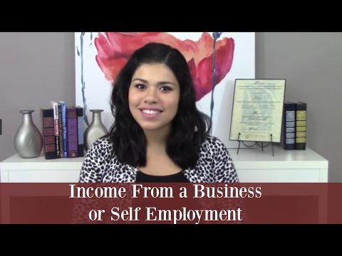 Documenting Income From a Business or Self Employment | LIHTC Community