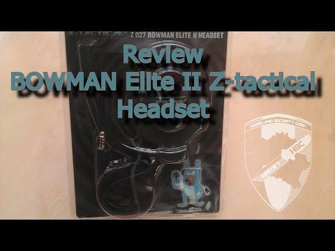 Review BOWMAN Elite 2 headset Z-tactical